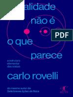 A Realidade Não é o Que Parece – Carlo Rovelli