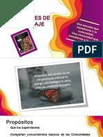 COMUNIDADES DE APRENDIZAJE Análisis de libro