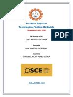 TRABAJO DE INVESTIGACION  OSCE