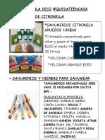 CATALOGO WORD LIMALA DECO