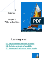 KSSM Form 2 Chapter 5 Water and Solution