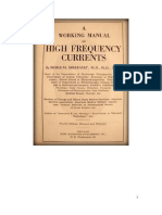 Eberhart's Manual of High Frequency Currents