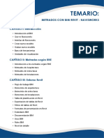 CALENDARIO DE MANERALES