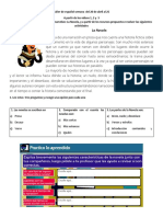 Guía  1 de español  semana 20 al 26 de abril