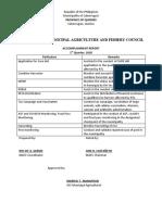 MAFC ACCOMPLISHMENT REPORT