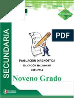 PRUEBA DE DIAGNOSTICO PARA 3er SECUNDARIA nuevo.docx