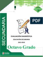 EXAMEN DIAGNÓSTICO DE SEGUNDO GRADO CICLO ESCOLAR 2013