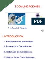 Curso de comunicaciones I   Introduccion 24 de marzo 2020  Unidad 1