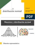 Muestreo y distribución