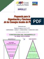 Organizacion y Funcionamiento de los C L P P(MPD)