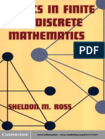 Topics in Finite and Discrete Mathematics - Sheldon M. Ross