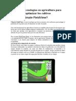 Nuevas tecnologías en agricultura para optimizar los cultivos (1)