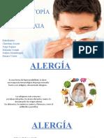 Alergia, atopía y anafilaxia