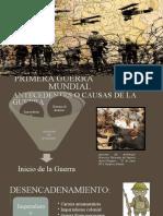 Primera Guerra Mundial (3° Medio electivo)