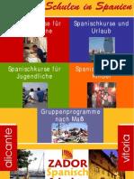 Spanischkurse Spanien Zador 201