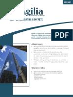agilia_technical_data_sheet