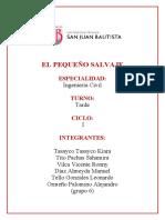 OPINIONES del PEQUEÑO SALVAJE _ GRUPO 6