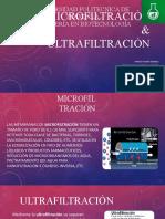 MICROFILTRACIÓN & ULTRAFILTRACIÓN.pptx