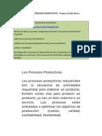 Los Procesos Productivos actividad 1