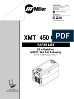 Manual de Partes Miller Electric Serie MH352553U