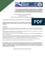 GUIA GRADO 9 FISICA  PLANTEAMIENTO DE OPERACIONES Y APLICACIONES DE VECTORES
