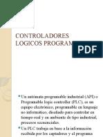 CONTROLADORES LOGICOS PROGRAMABLES