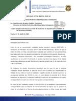 27. DPPME-009-04-2020-AJ, implementación de modulo de impedimentos de ingreso en SIMMEL.pdf