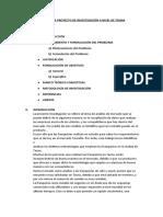 ANALISIS DE MERCADO REGION TACNA