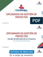 1.1 El Estudio de Mercado de los Proyectos CEDESARROLLO