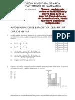 TALLER DE AUTOEVALUACION ESTADISTICA Y PROBABILIDADES.pdf