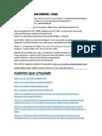 Los Estudios de Impacto Ambiental ----FUENTES RECOMENDADAS