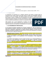 EL REGIMEN ADUANERO DE IMPORTACION PARA EL CONSUMO