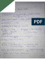 formula sheet with main poin