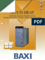 Baxi Multi Heat Pellet