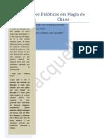 Definições Didáticas Em Magia Do Chaos