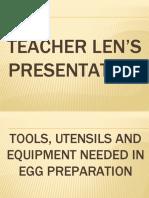1PPTGR10-Tools, Utensils and Equipment Needed In Egg