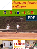 Spanish Summer camps for teenagers in Spain 2011