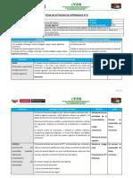 Ficha de Actividad de Aprendizaje - PRODUCCIÓN DE AVES DE POSTURA