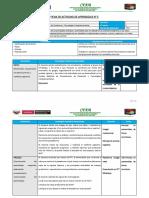 Ficha de Actividad de Aprendizaje - FUNDAMENTOS DE ZOOTECNIA