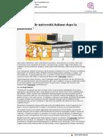 Il futuro delle università italiane dopo la pandemia - It.mashable.com, 10 giugno 2020