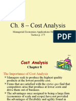 ch08 - Cost Analysis