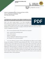 Surat Pengecualian APEL-C-1