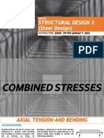Ce522 - Week 14-15 Combined Stresses (Axial Tension and Bending) (1)