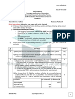 07-06-2020 CA Foundation Accounts Test Question