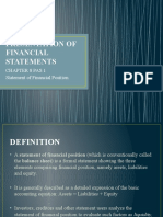 CHAPTER 8 -PAS 1 STATEMENT OF FINANCIAL POSITION
