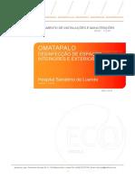 112 R1 - DIM - Omatapalo - Desinfecção de Espaços Interiores e exteriores