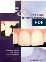 Esthetic dentistry and ceramic restoration 1999