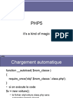 PHP5 - it's a kind of magic