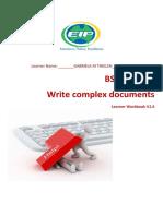 BSBWRT401 Learner Workbook V1.6 - EIP.docx