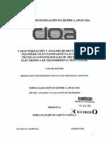 Análisis de Recubrimientos Poliméricos en Nanopartículas Mediante Técnicas Convencionales de Microscopía Electrónica de Transmisión